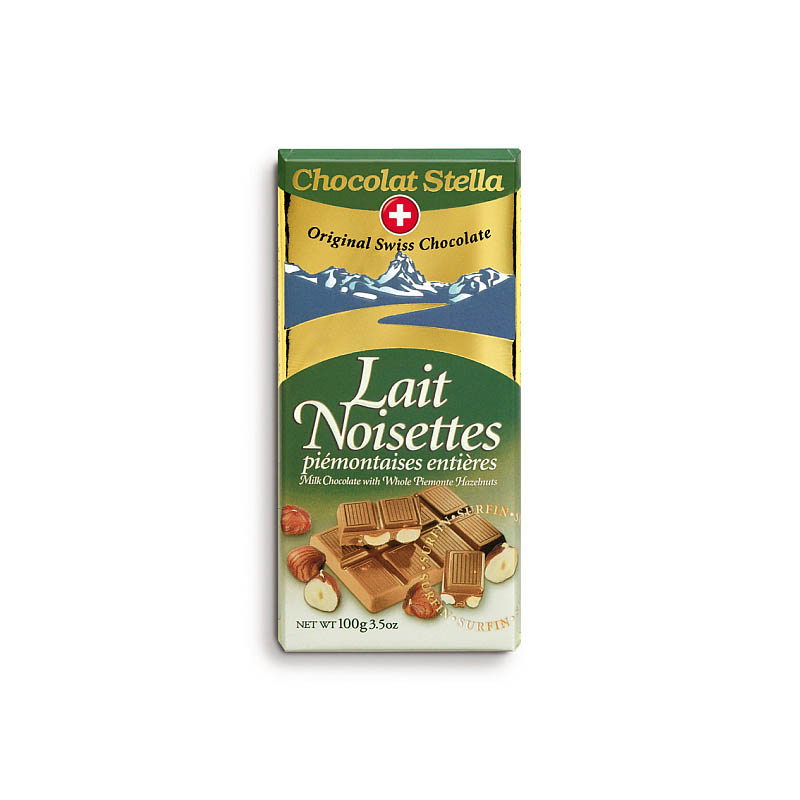 Mléčná s lískovými ořechy
