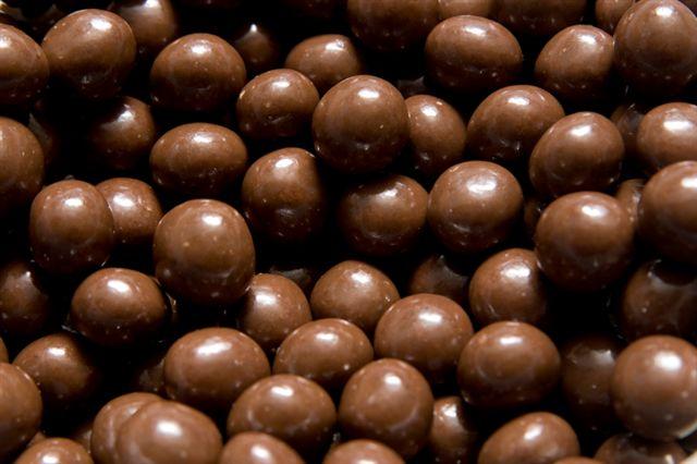 Lískové ořechy v mléčné čokoládě