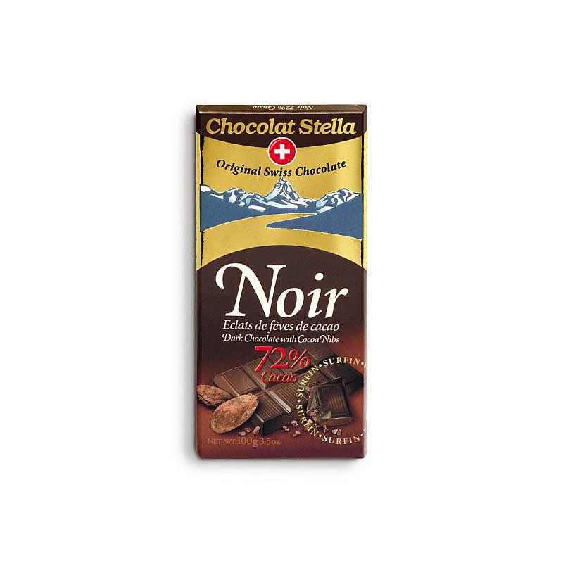 Hořká s kakaovými kousky