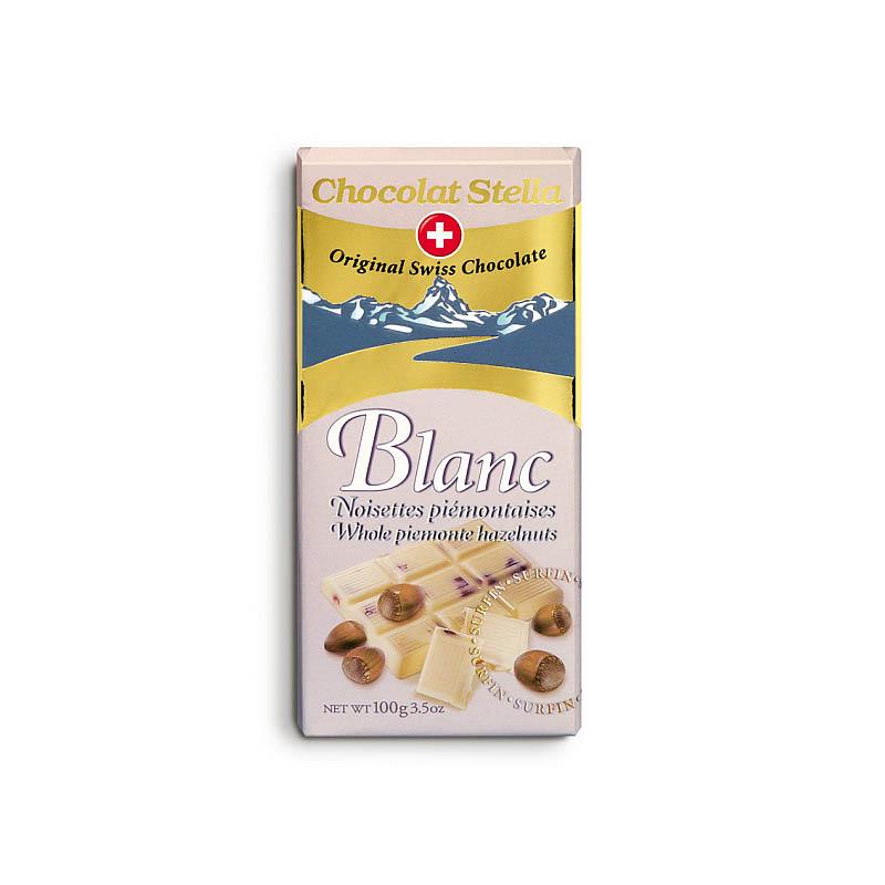 Bílá čokoláda s ořechy