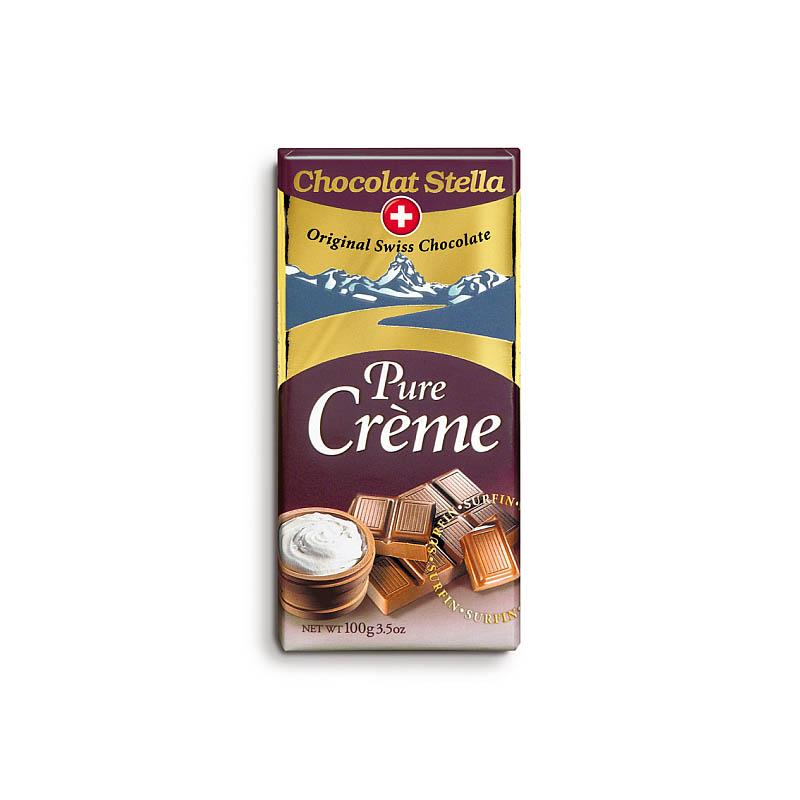 Krémová čokoláda
